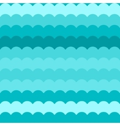 Wave pattern blue abstract waves vector