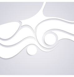 Wavy corporate swirl pattern design vector