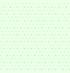 green star pattern seamless vector image vector image