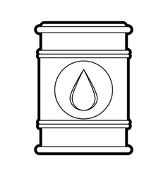 Barrel oil industry related icon image vector
