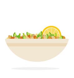 Bean salad vector