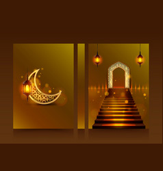 Cover of ramadan kareem vector