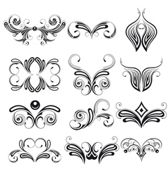 elements of Design vector image vector image
