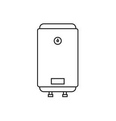 Home water heater vector