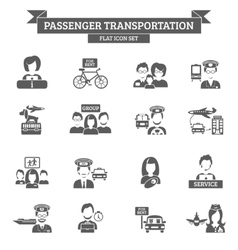 Passenger Transportation Icon vector image