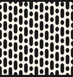 Seamless pattern with rounded lines and circles vector