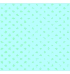Turquoise spotted pattern vector image