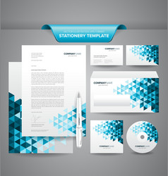 Business Stationery Templates vector image vector image