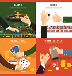 winning concept icons set vector image vector image
