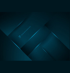 abstract blue geometric overlap layer background vector image