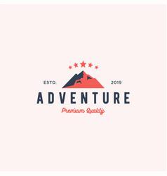 Adventure logo badge icon vector