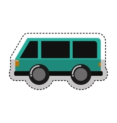 car vehicle travel icon vector image