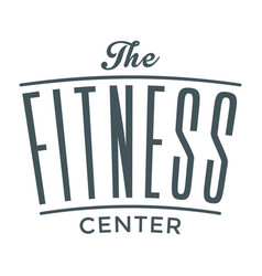 Fitness the center image vector