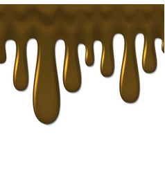 gold caramel background template for your design vector image