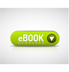 Green ebook download button vector