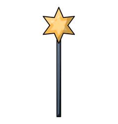 magic wand icon vector image
