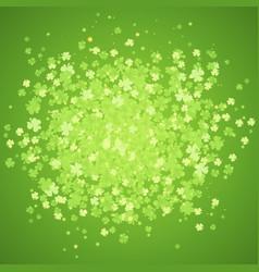 st patrick day green splash vector image vector image