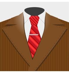 Smart suit vector image