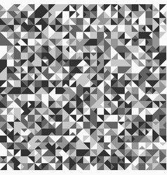 abstract geometrical triangle mosaic pattern vector image