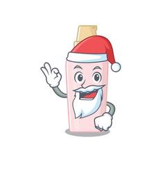Cartoon character foundation santa having cute vector