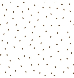 Flaxseeds seamless pattern Packaging background vector image