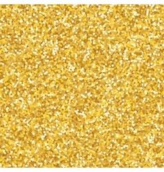 Golden glitter texture vector
