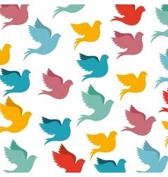Peace dove icon image vector