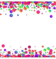 White background with colour drops vector
