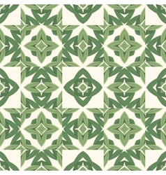 Abstract organic seamless background in green hues vector image