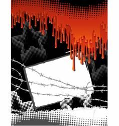 blood background vector image