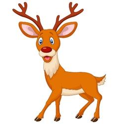 Cartoon deer vector image vector image