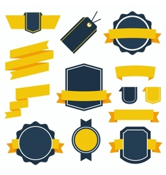 Stickers and Badges Set 2 Flat Style vector image vector image