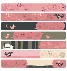 Banner Backgrounds vector image