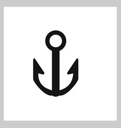 anchor icon vector image