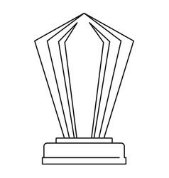 award icon thin line vector image