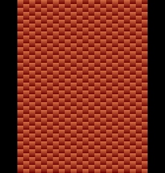 Brick texture geometric seamless background vector image vector image