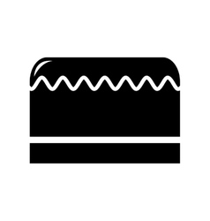 cake isolated icon design vector image