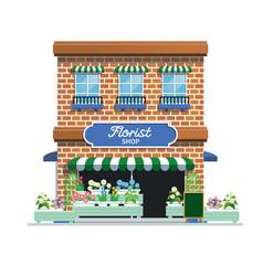 Florist shop vector