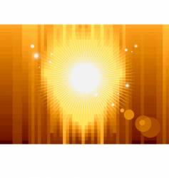 Gold pixel background vector