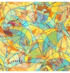 Light colorful seamless pattern vector image