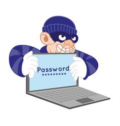 personal dane ciber thief vector image