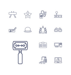 Personal icons vector