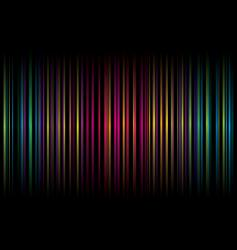 Rainbow stripe graphic design vector