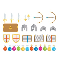 Set of Icons - Fantasy vector