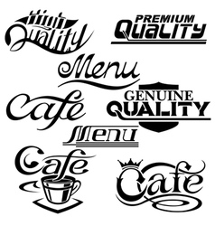 textdesign elements vector image