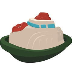 Toy Tugboat vector image