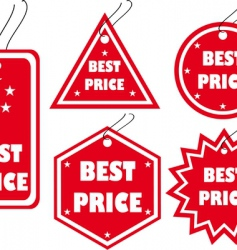 best price vector image vector image