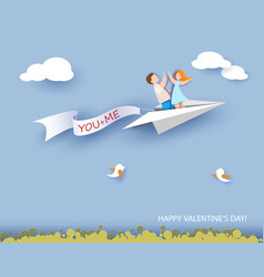 abstract background with couple in love vector image vector image