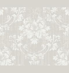 Delicate vintage ornament royal victorian vector