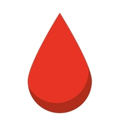 drop blood isolated icon design vector image
